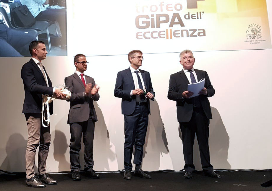 "Tekné Consulting wins the award ""Trofeo Eccellenza Gipa 2017"
