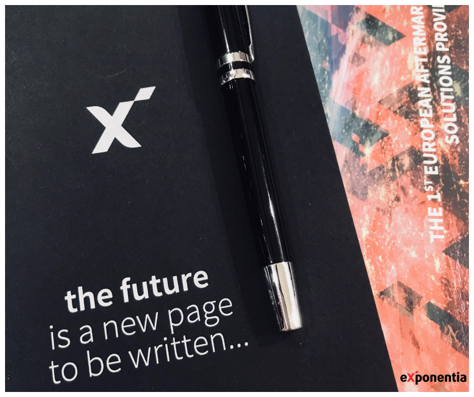 exponentia the future is a new page to be written